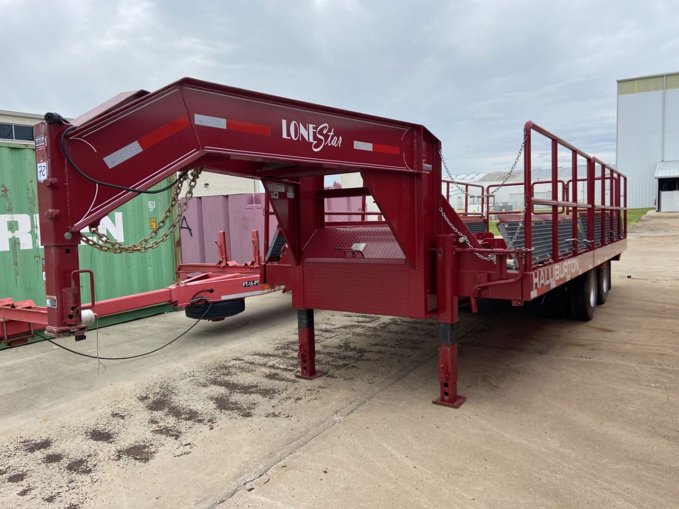 Final Sale of Ancillary Equipment Used in the Downsizing of Halliburton's Carrollton, TX Manufacturing and Technology Center