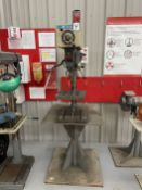 Rockwell No 15-655 Bench Type Pedestal Mount Drill Press