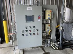 Natural Gas Fired Furnace, 1000° F Max. Temperature, w/ PLC Control & VFD Controlled Fans