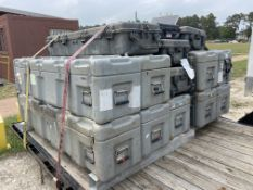 Skid of (14) Pelican Cases and Hardigg Cases