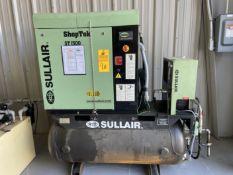 Sullair Shoptek ST1500 Air Compressor Package, s/n C03-C02565, w/ Built-On Dryer