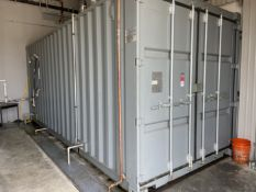 20' Sea Container w/ High Pressure Self Contained Testing System