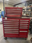 Rolling Tool Chest w/ CRAFTSMAN Tool Box