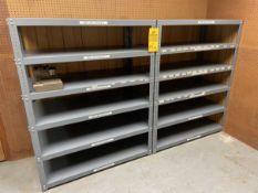Lot of (4) HD Parts Shelves (toolroom)