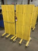 Lot Consisting of (2) Uline H-7604 Safety Barricade Gates