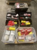 Pallet of Lock-Out Tag-Out Kits