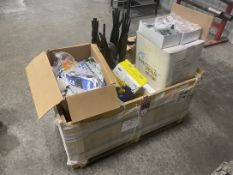 Large Lot of PPE Equipment Consisting of Ear Plugs, Safety Glasses, Safety Harnesses and Gloves