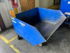 Vestil H-100-HD 1 Cu Yd Self Dumping Hopper