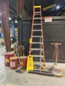 Lot of Janitorial (Ladder, Garbage Cans, Floor Scrubber, etc.)
