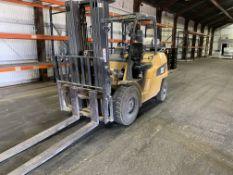 "Caterpillar GP50CN1 LP 9,650 Lb. Forklift, s/n AT29D90512, 189"" Lift Height, Side Shift"