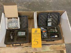 Lot of (4) Dakota Ultrasonic MX-3 Thickness Gauges