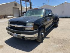2004 Chevrolet C3500 Dually Crew Cab Long Bed, Leather, 254K Miles, Vin # 1GCJC33234F253116