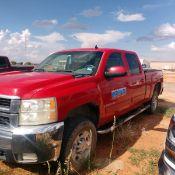 2008 Chevrolet 2500 LTZ Pickup Truck, VIN # 1GCHC23K78F108787, 297,000 Miles, Crew Cab, Short Bed