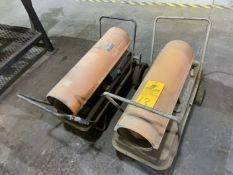 Lot of (2) Salamander Style Heaters