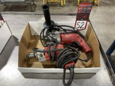 Lot of (2) Milwaukee Electric Drills
