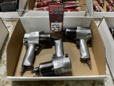 """Lot of (3) Ingersoll Rand 1/2"""" Drive Pneumatic Impacts"""