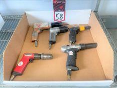 Lot of Assorted Pistol Type Pneumatic Tools