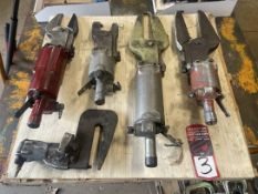 Pallet of Assorted Pneumatic Compression Riveters