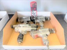 Lot of (4) Hi-Shear Spacematic Air Drills