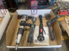 Lot of Pneumatic Finishing Tools