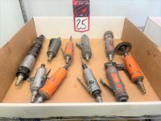 Lot of (10) Assorted Pneumatic Tools