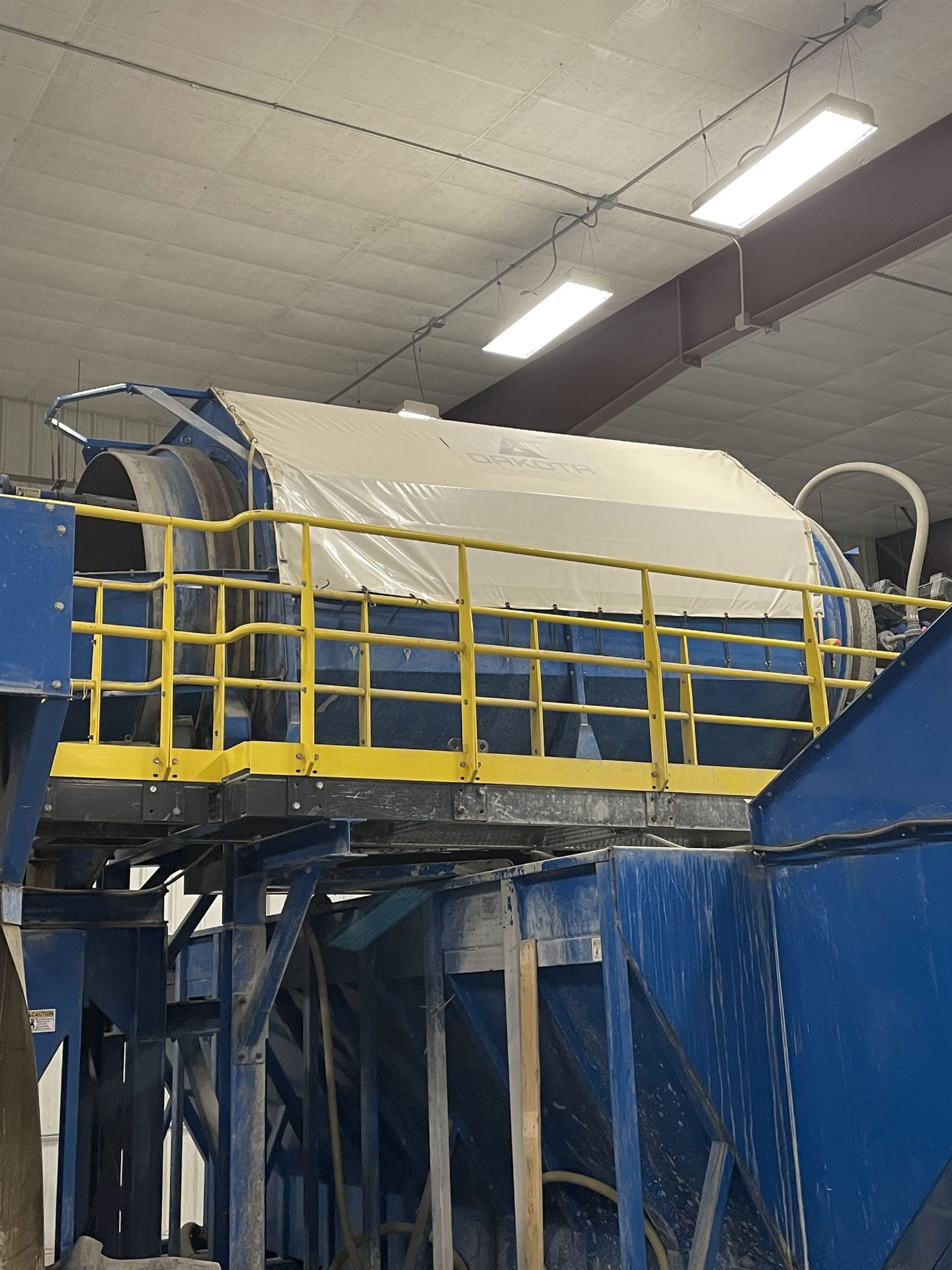 2015 LUBO SYSTEMS WASHING DRUM 1800x5000 Rotary Washing Drum, s/n 800108-0160, 1.8 m Drum - Image 3 of 6