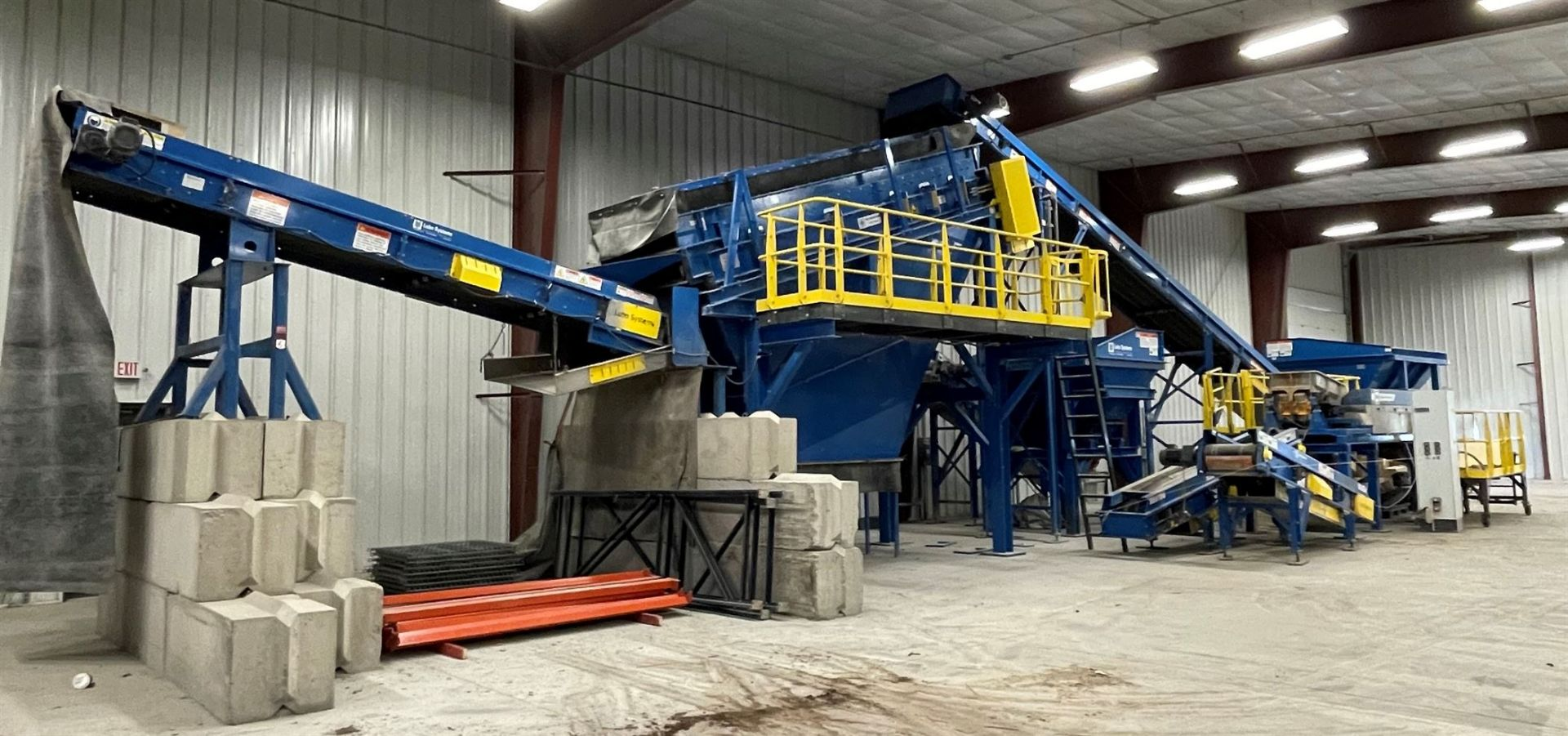 BULK LOT: 2015 VDL SYSTEMS Metal Recovery Shaker Separation Line as a Complete System, Comprising - Image 2 of 10