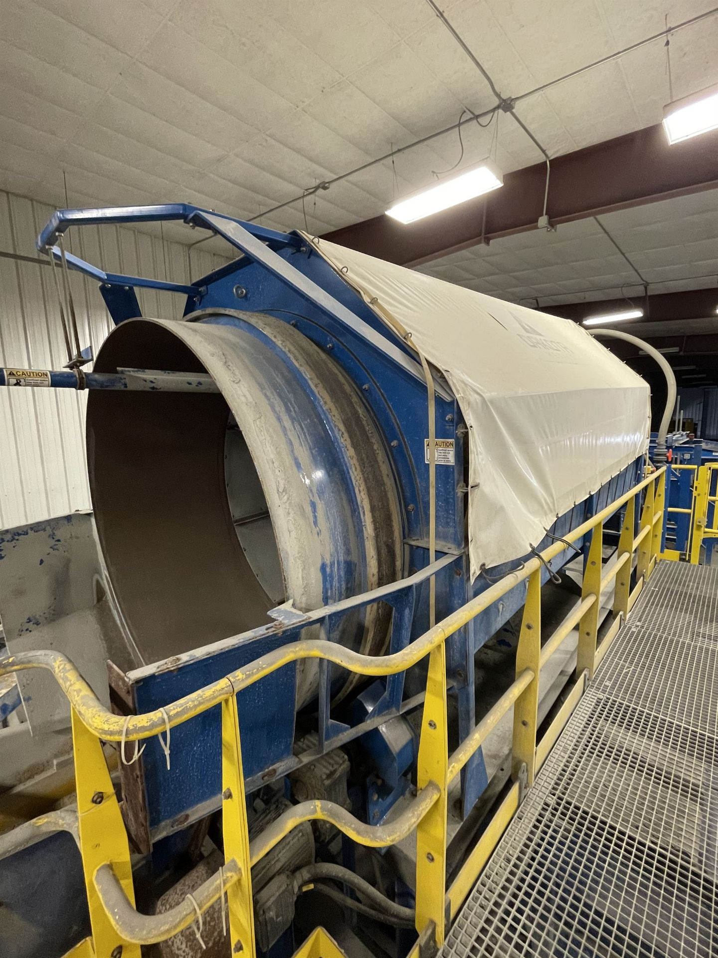 2015 LUBO SYSTEMS WASHING DRUM 1800x5000 Rotary Washing Drum, s/n 800108-0160, 1.8 m Drum - Image 5 of 6