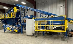 BULK LOT: 2015 VDL SYSTEMS Metal Recovery Eddy Current Separation Line as a Complete System,