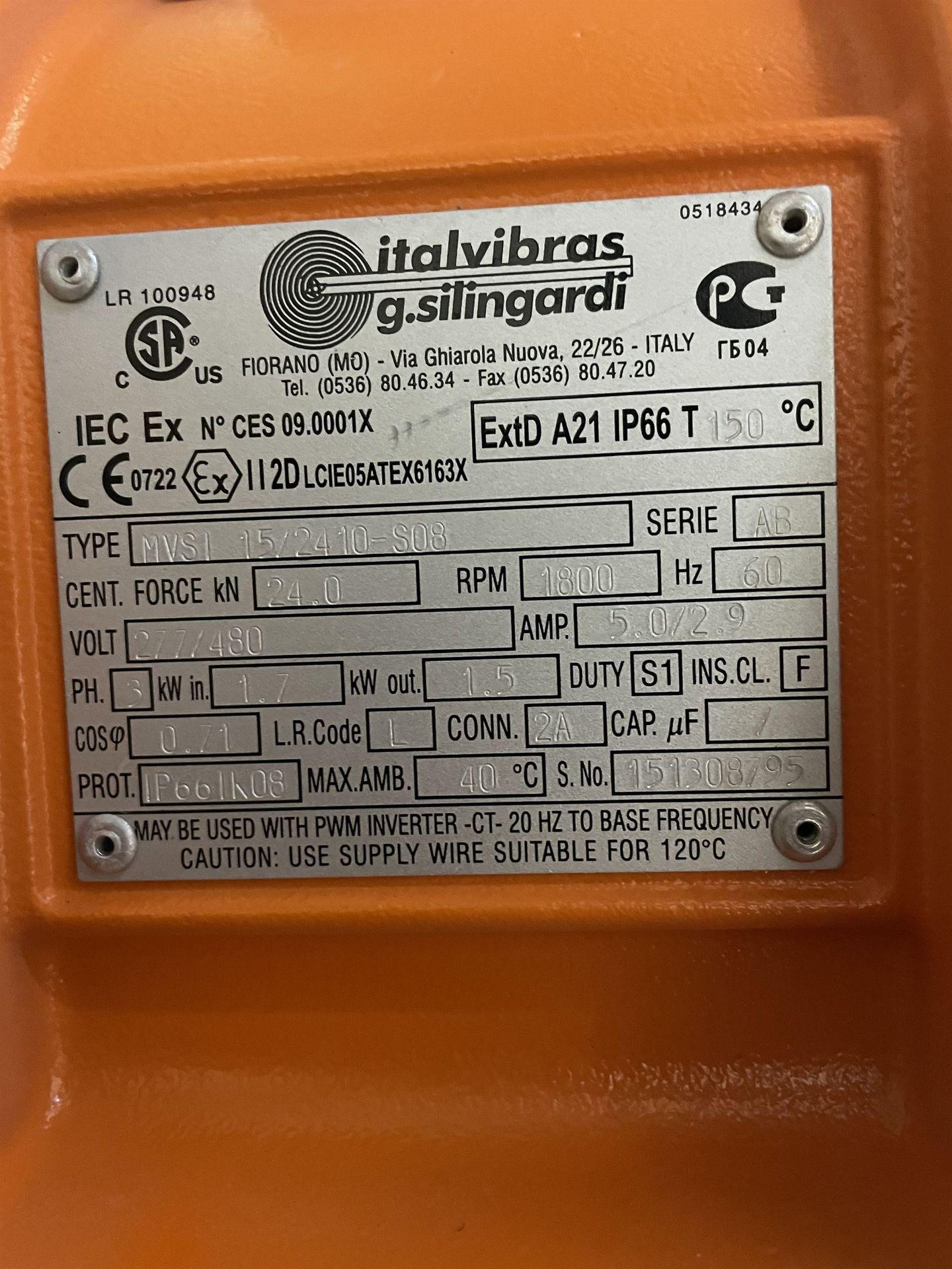 2015 SCREENING MACHINES HLOGO-60/300-25 Shaker Screen, s/n 1512A2186-2, 600 x 3000 x 250mm - Image 5 of 10