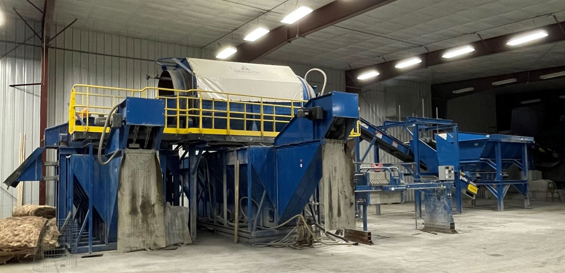 BULK LOT: 2015 VDL SYSTEMS Metal Recovery Washer Separation Line as a Complete System, Comprising - Image 2 of 14