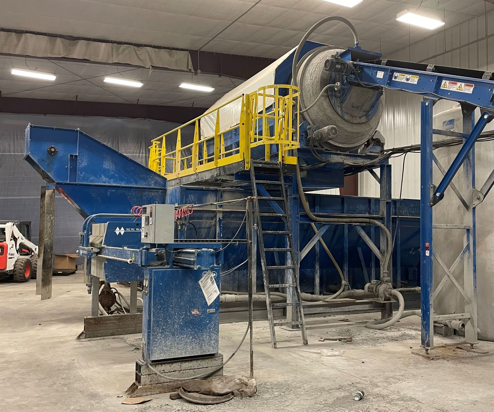 BULK LOT: 2015 VDL SYSTEMS Metal Recovery Washer Separation Line as a Complete System, Comprising - Image 6 of 14
