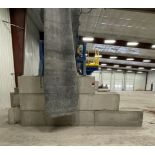 Approx. (20) JERSEY Cement Retaining Blocks