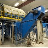 2015 LUBO SYSTEMS WATER CONT. 2000x9400 Settling Tank, s/n 800108-0182, 20 m³ Waterbath Capacity [