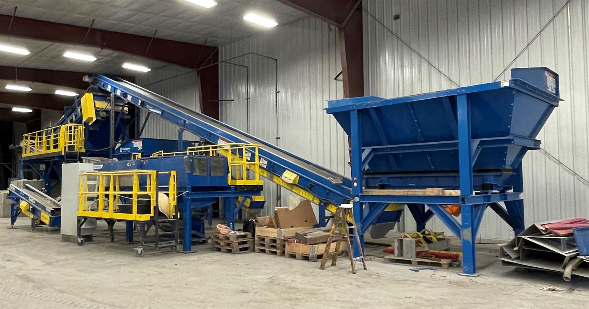 BULK LOT: 2015 VDL SYSTEMS Metal Recovery Shaker Separation Line as a Complete System, Comprising