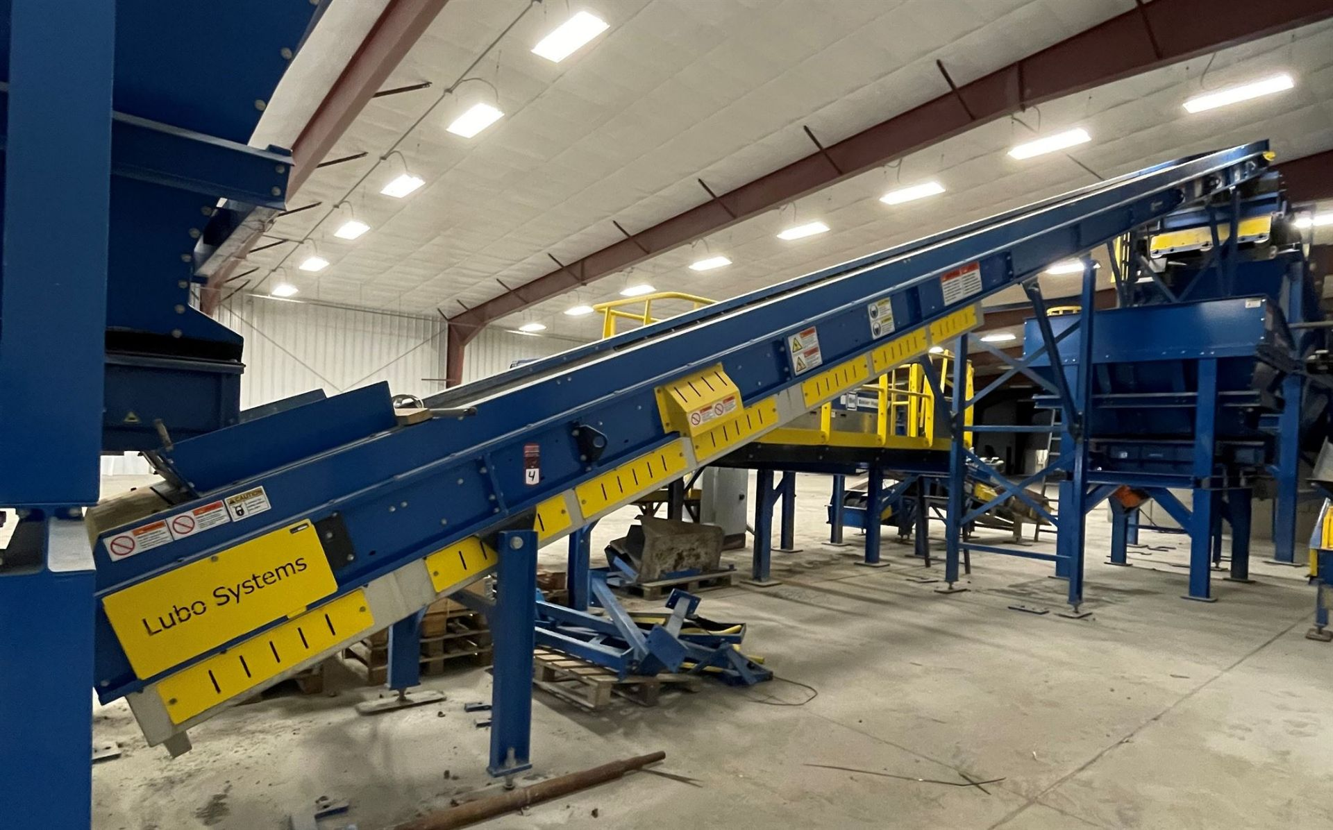 2015 LUBO SYSTEMS TBL 1000x15000 Inclined Belt Conveyor, s/n 800108-0040, 1000mm x 5000mm, SEW 3.7 - Image 2 of 5