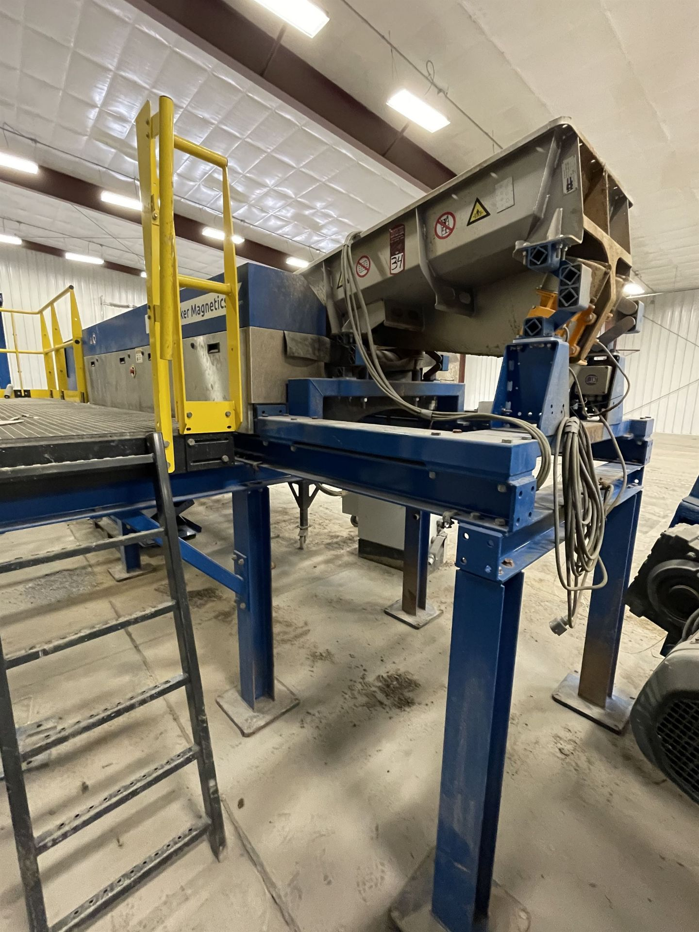BULK LOT: 2015 VDL SYSTEMS Metal Recovery Eddy Current Separation Line as a Complete System, - Image 7 of 9
