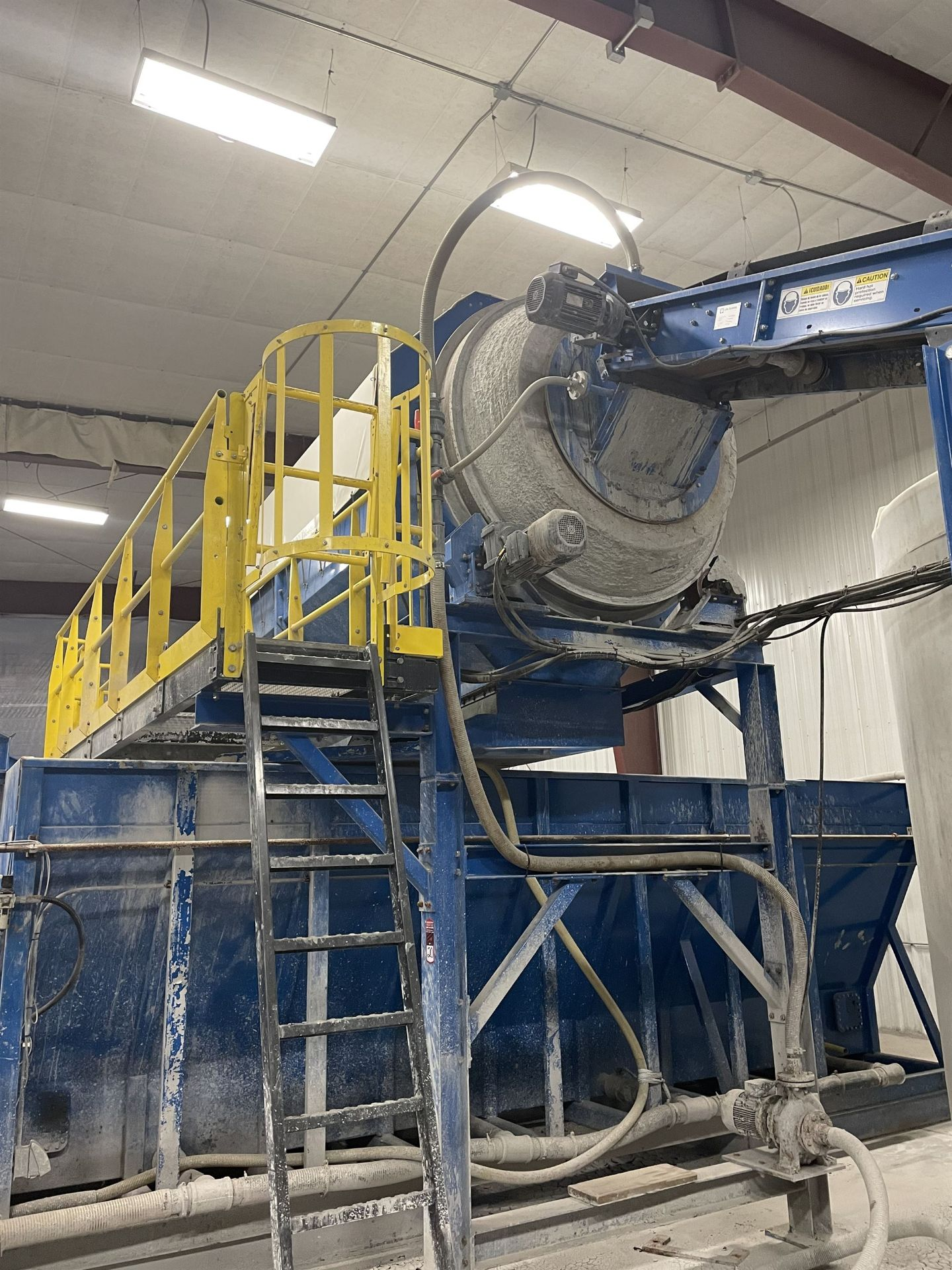 2015 LUBO SYSTEMS WASHING DRUM 1800x5000 Rotary Washing Drum, s/n 800108-0160, 1.8 m Drum - Image 2 of 6