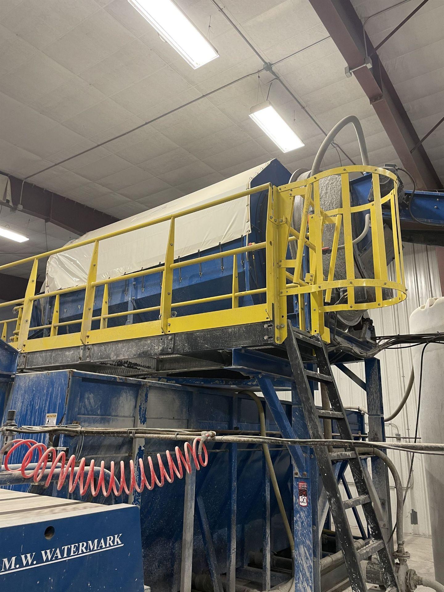 2015 LUBO SYSTEMS WASHING DRUM 1800x5000 Rotary Washing Drum, s/n 800108-0160, 1.8 m Drum