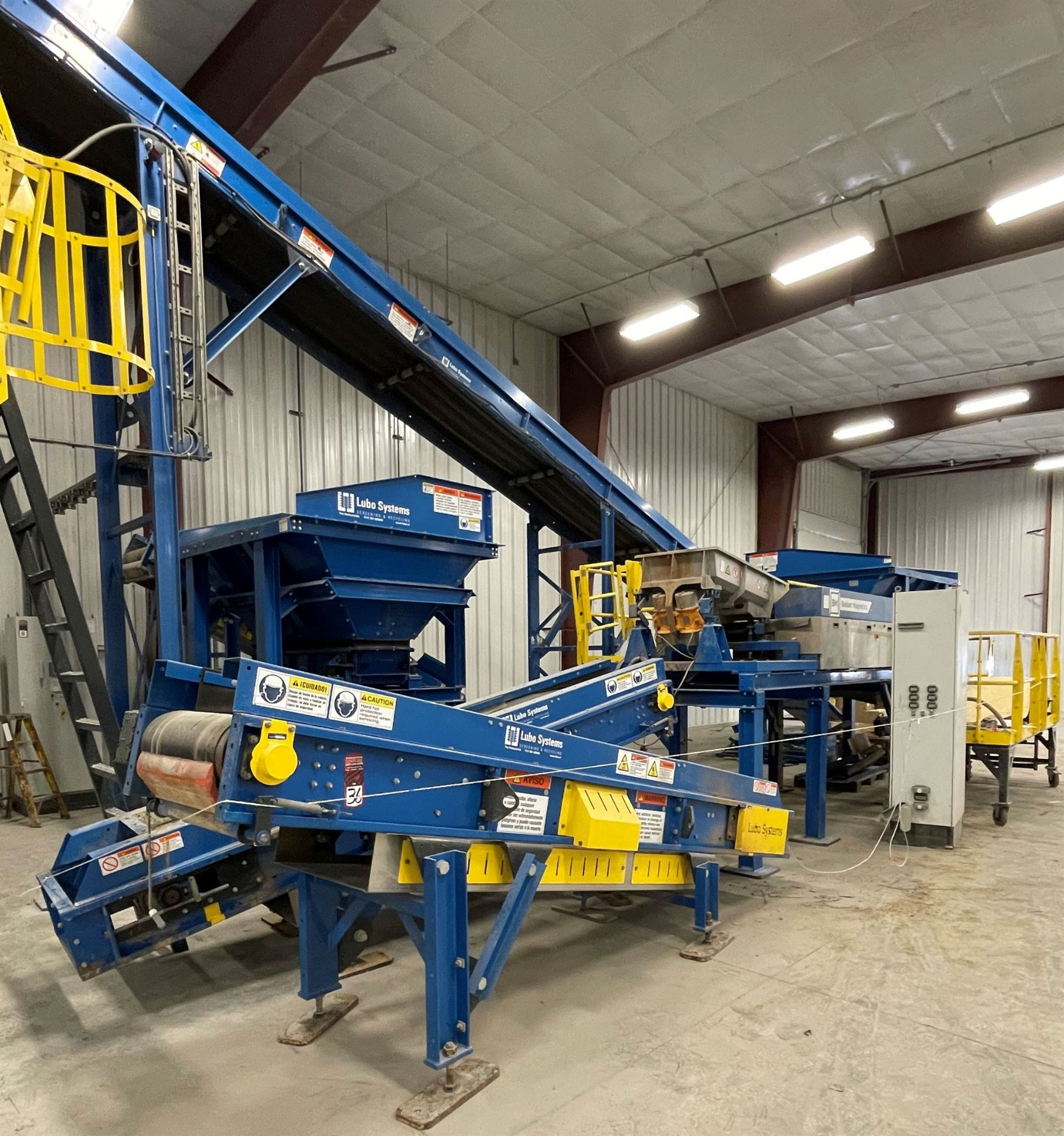 BULK LOT: 2015 VDL SYSTEMS Metal Recovery Eddy Current Separation Line as a Complete System, - Image 2 of 9