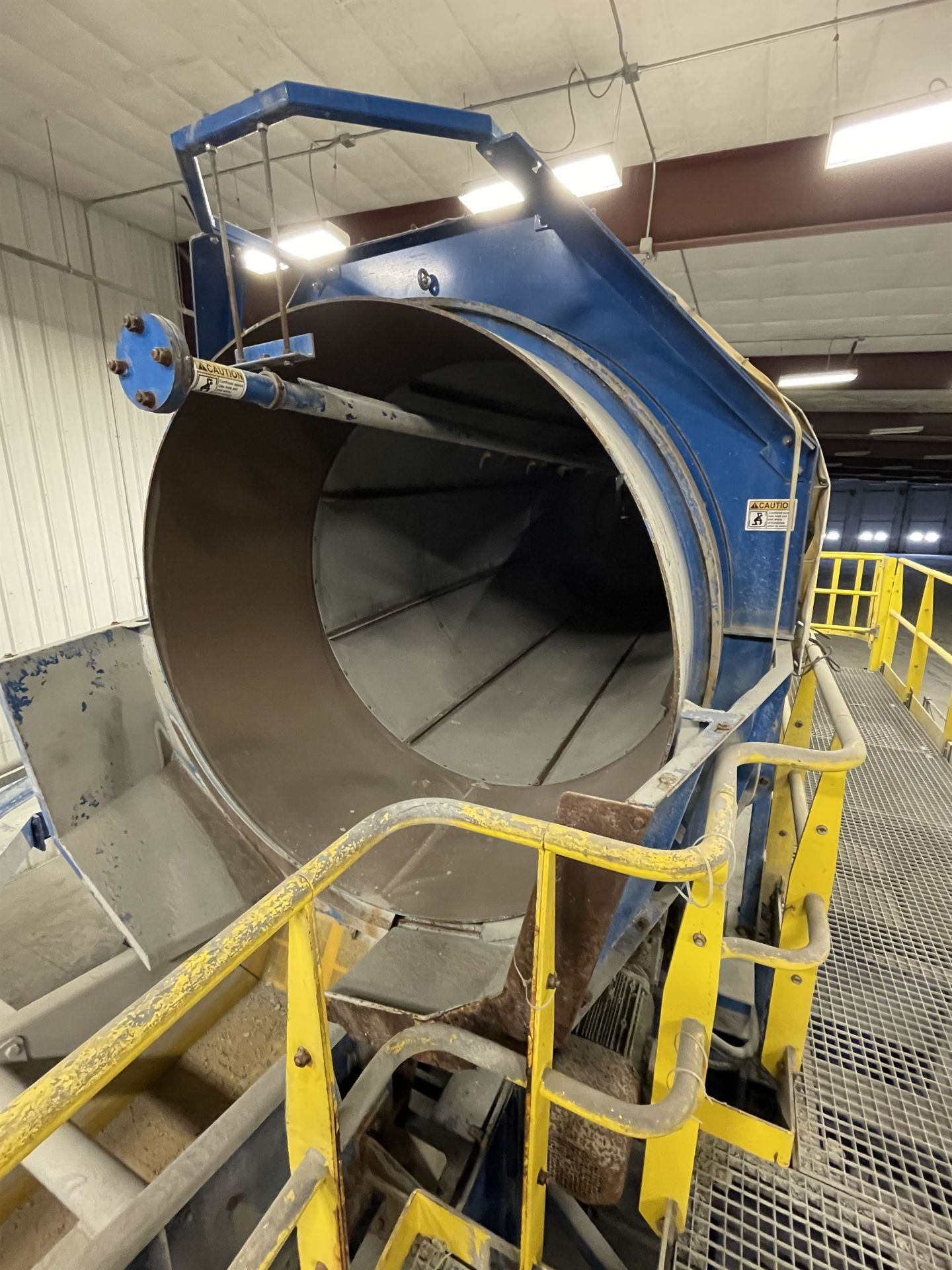 2015 LUBO SYSTEMS WASHING DRUM 1800x5000 Rotary Washing Drum, s/n 800108-0160, 1.8 m Drum - Image 4 of 6