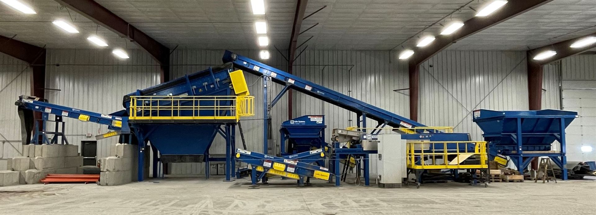 BULK LOT: 2015 VDL SYSTEMS Metal Recovery Shaker Separation Line as a Complete System, Comprising - Image 3 of 10