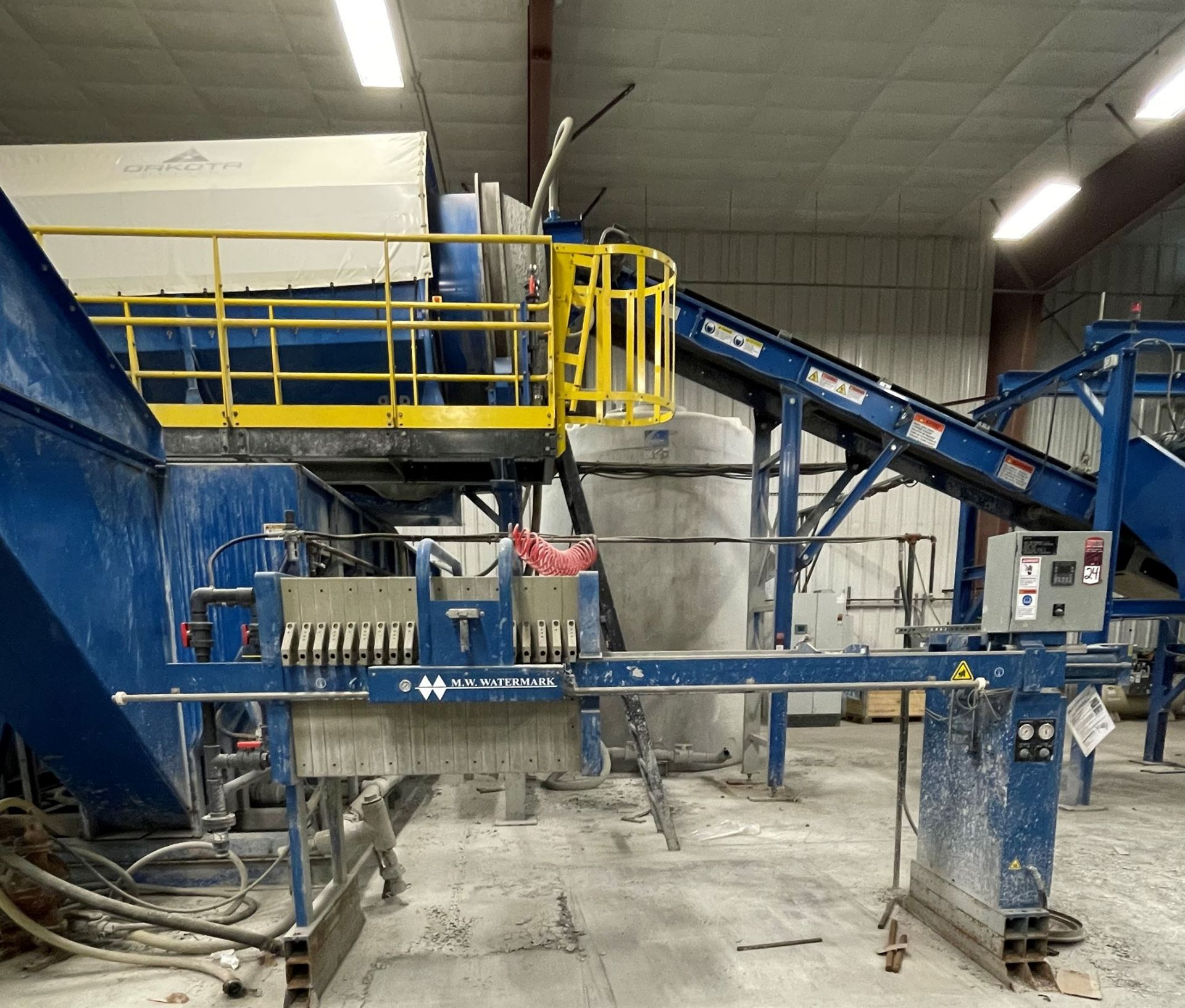 BULK LOT: 2015 VDL SYSTEMS Metal Recovery Washer Separation Line as a Complete System, Comprising - Image 12 of 14