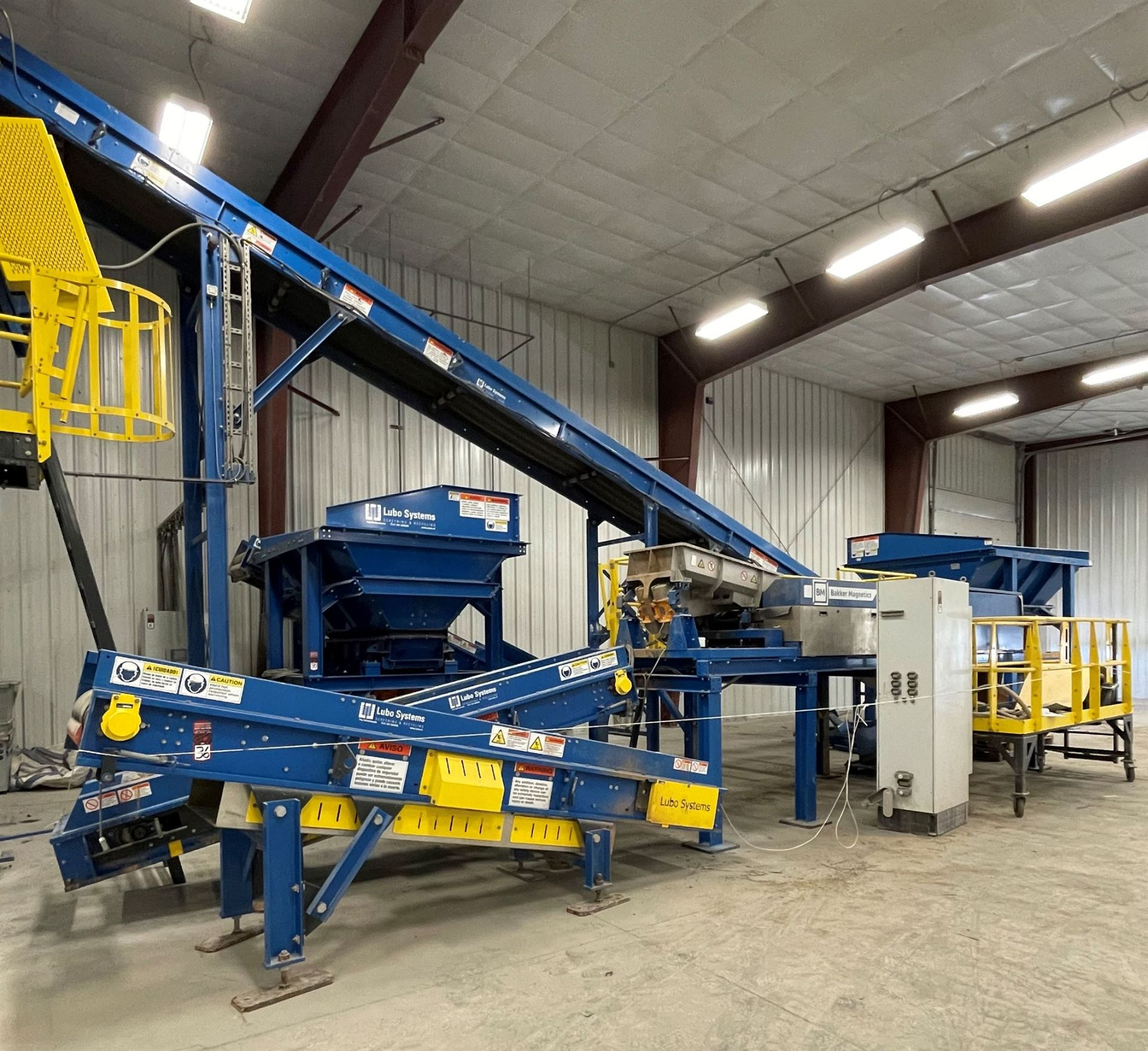 BULK LOT: 2015 VDL SYSTEMS Metal Recovery Eddy Current Separation Line as a Complete System, - Image 9 of 9