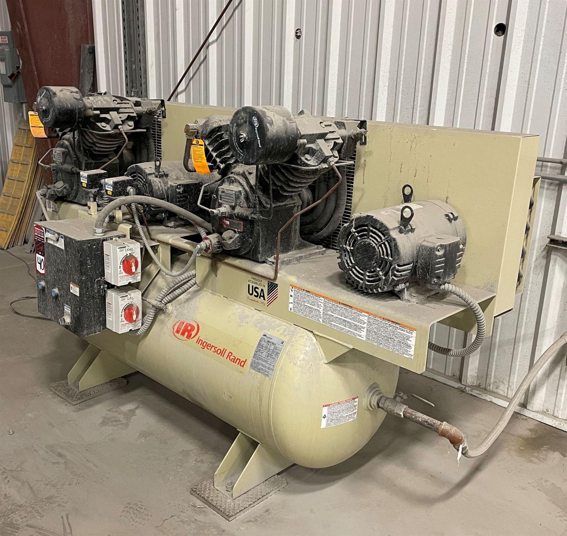 INGERSOLL RAND 2-2545E10-P 20-HP Air Compressor, s/n CBV475831 - Image 2 of 5