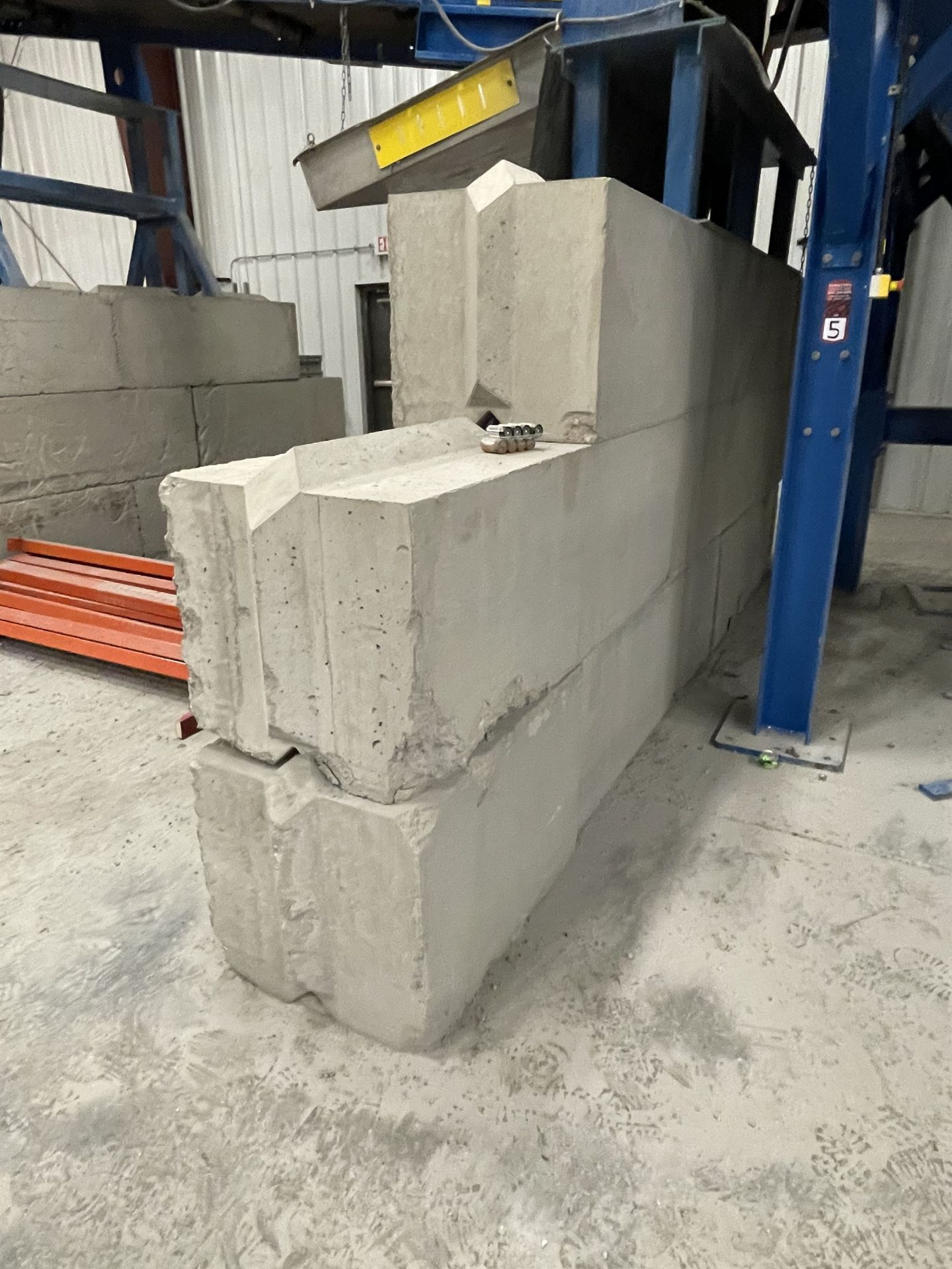 Approx. (20) JERSEY Cement Retaining Blocks - Image 4 of 4