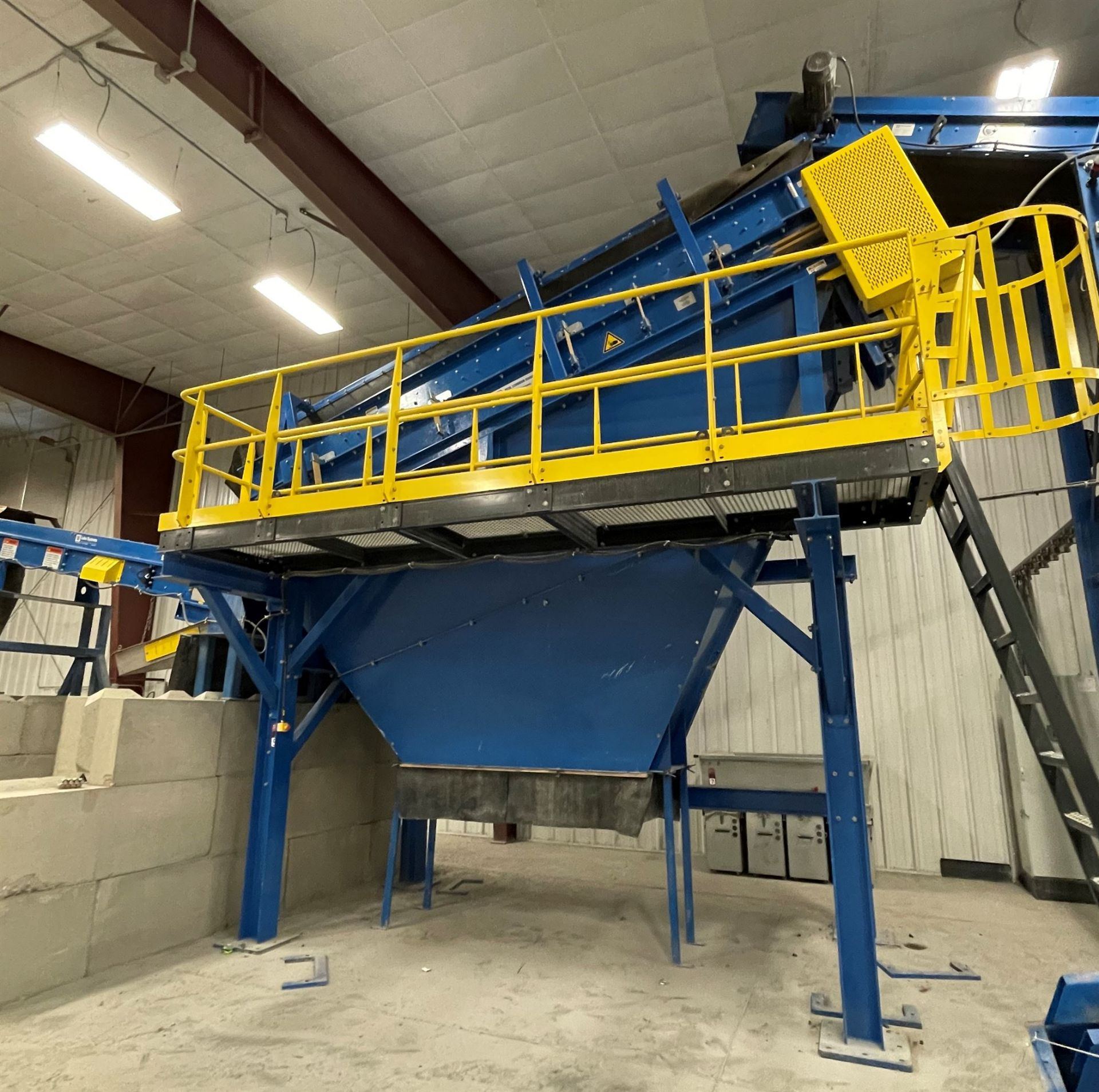 BULK LOT: 2015 VDL SYSTEMS Metal Recovery Shaker Separation Line as a Complete System, Comprising - Image 7 of 10