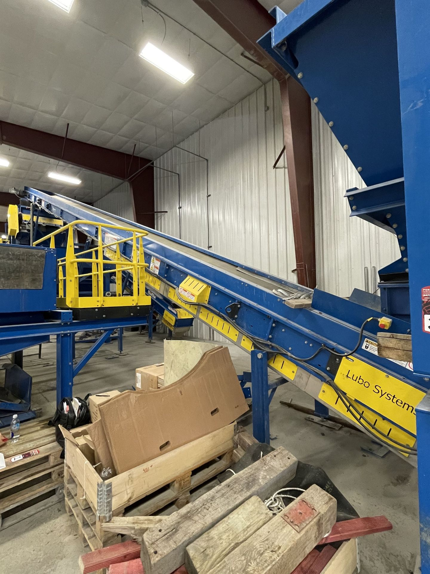 BULK LOT: 2015 VDL SYSTEMS Metal Recovery Shaker Separation Line as a Complete System, Comprising - Image 6 of 10