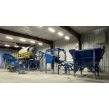 BULK LOT: 2015 VDL SYSTEMS Metal Recovery Washer Separation Line as a Complete System, Comprising