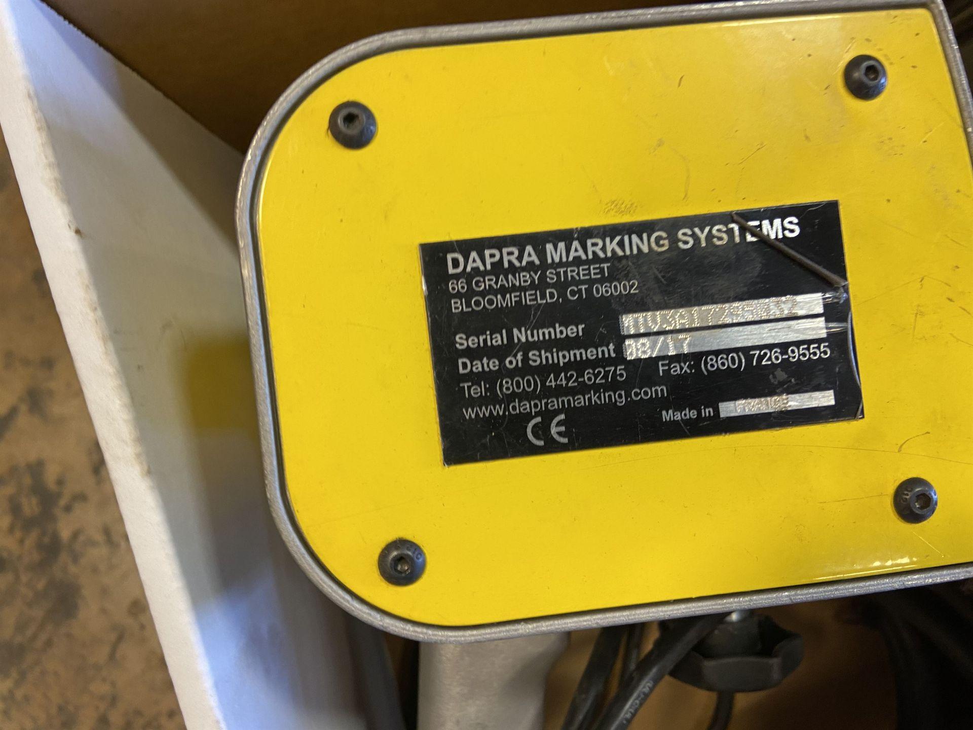 2017 Dapra Technomark Multi 4 Marking Machine with Stand s/n MTV3A17295032 - Image 2 of 2